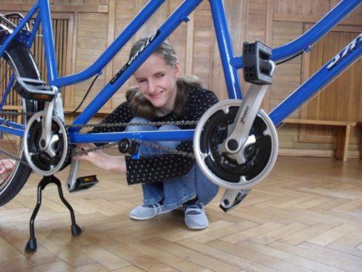 5 tandemów służy młodzieży z zakładu dla niewidomych w Laskach