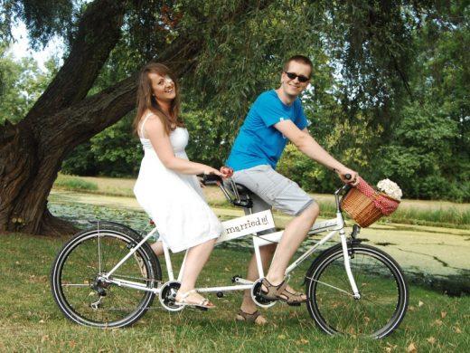 do ślubu rowerem