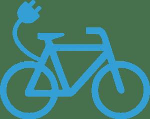 rower elektryczny ikona