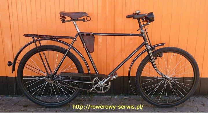 Renowacja roweru Bałtyk z1959