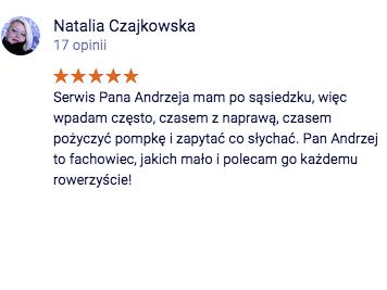 Opinia Natalia Czajkowska
