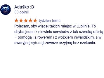 Opina Adaśko ;D